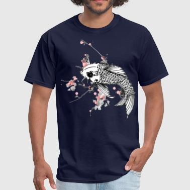 fish koi - Men's T-Shirt