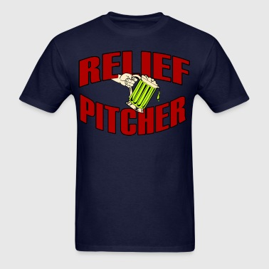 RELIEF-PITCHER-FUNNY-T-SHIRT - Men's T-Shirt