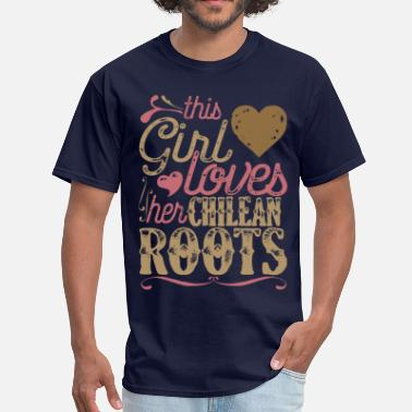 Gift For Chilean Chilean Roots Shirt Gift - Men's T-Shirt