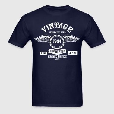 Vintage Perfectly Aged 1984 - Men's T-Shirt