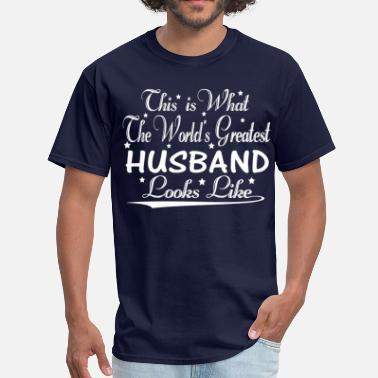 Worlds Best Husband World's Greatest Husband... - Men's T-Shirt