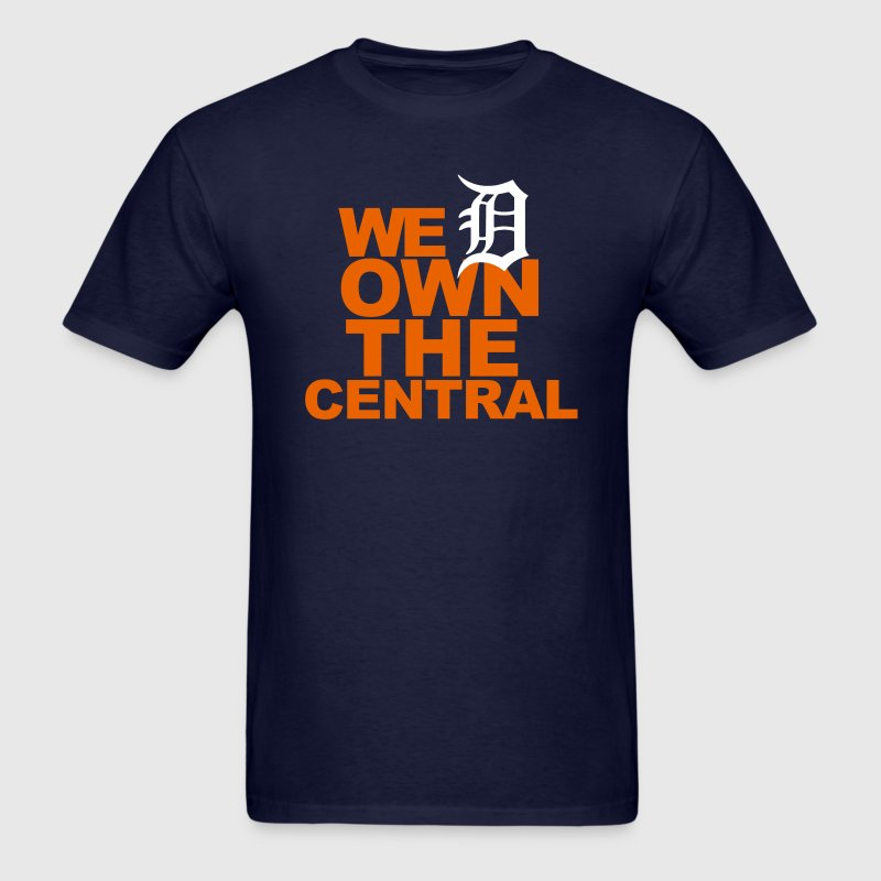 Detroit We Own the Central - Men's T-Shirt