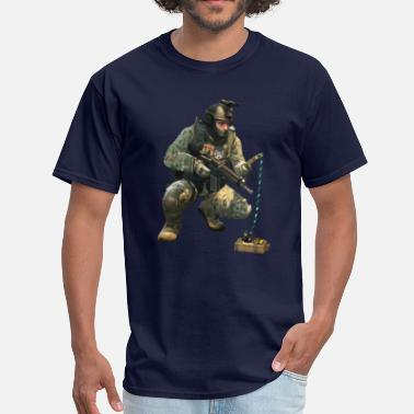 Counter Strike DEFUSiNG CT CS:GO - Men's T-Shirt