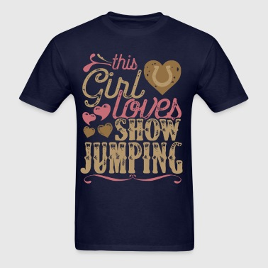 Horse Show Jumping Horses - Men's T-Shirt