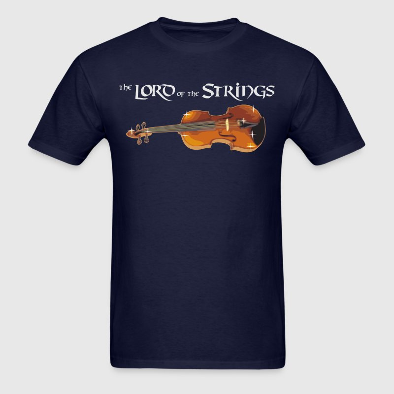 the Lord of the Strings - digital - Men's T-Shirt