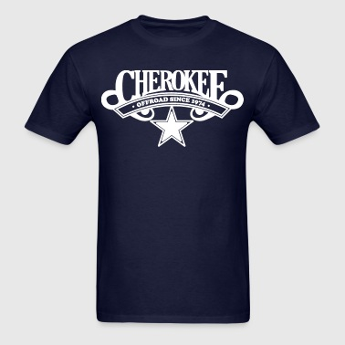 Cherokee Offroad Since 1974 - White - Men's T-Shirt