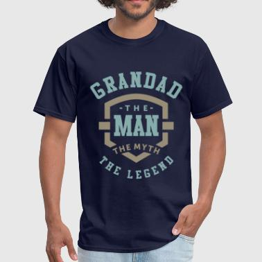 The Man The Myth The Legend Grandad The Man - Men's T-Shirt