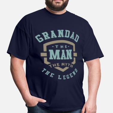 Grandad Grandad The Man - Men's T-Shirt