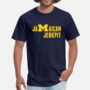 Jamaican Jerk Pit of A2 - Men's T-Shirt
