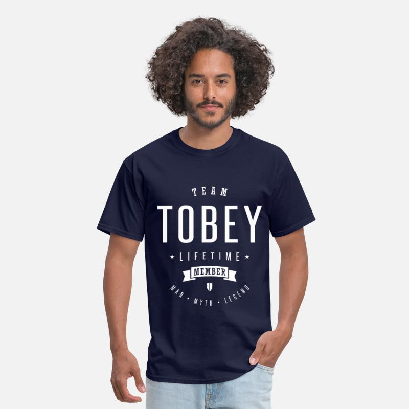 Legend T-Shirts - Team Tobey - Men's T-Shirt navy