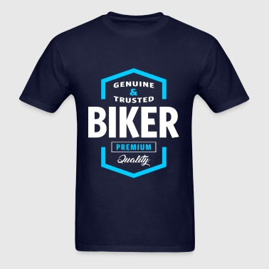 Biker Logo Gift Ideas - Men's T-Shirt