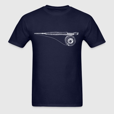 fishing rod - Men's T-Shirt