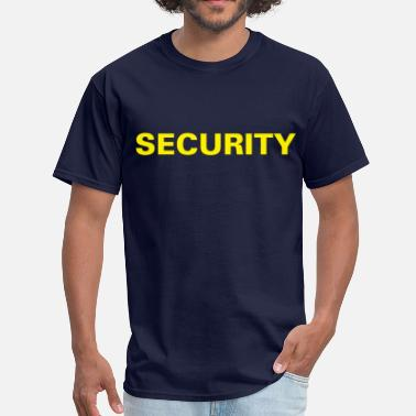 Police Or Fbi Agent Or Us Marshal Security T-shirt (1) - Men's T-Shirt