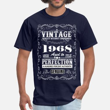 Premium Vintage 1968 Aged To Perfection Premium Vintage 1968 Aged To Perfection - Men's T-Shirt