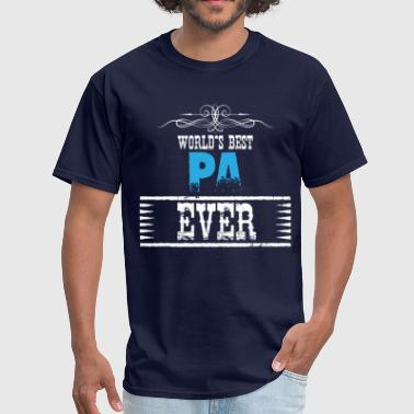 World's Best Pa Ever - Men's T-Shirt