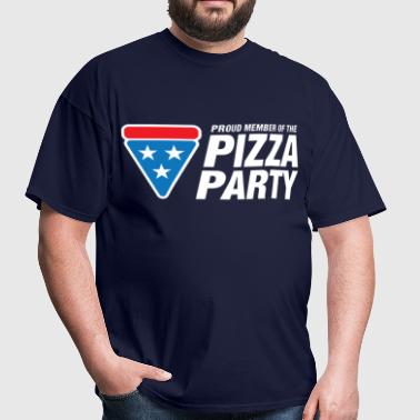 Pizza Party - Men's T-Shirt