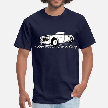 Bugeye Classic Austin-Healey script and illustration - Men's T-Shirt