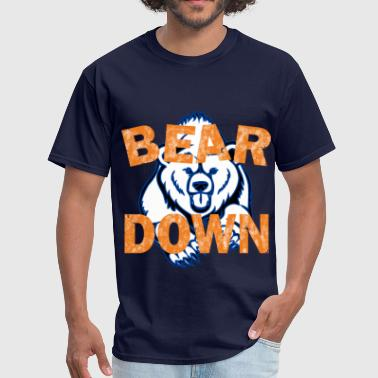 Bear Down - Men's T-Shirt