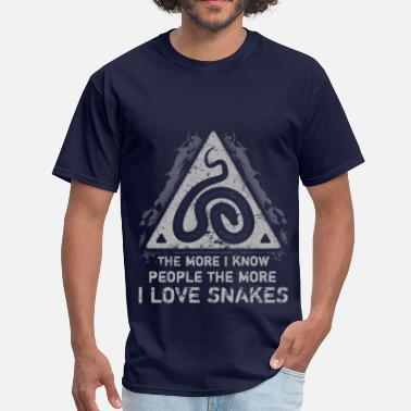 275cbd8624ef I Love Snake Snakes - I Love Snakes - Men's ...