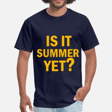 Bac Sport IS IT SUMMER YET - Men's T-Shirt