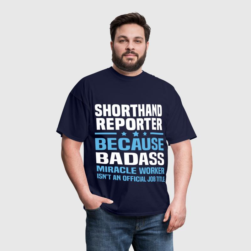 Shorthand Reporter - Men's T-Shirt