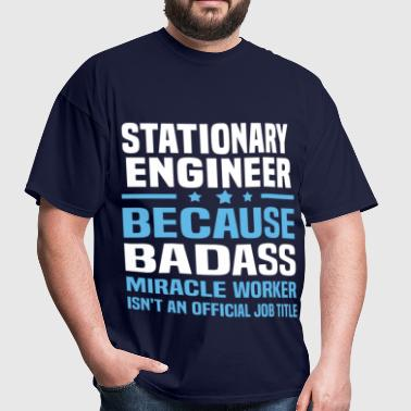 Stationary Engineer - Men's T-Shirt