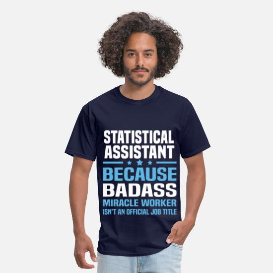 Statistical AssistantBoyfriend T-Shirts - Statistical Assistant - Men's T-Shirt navy