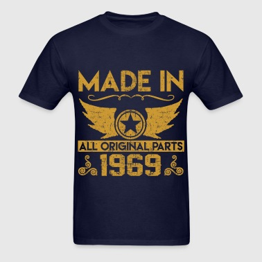 mad e in 1969 33.png - Men's T-Shirt