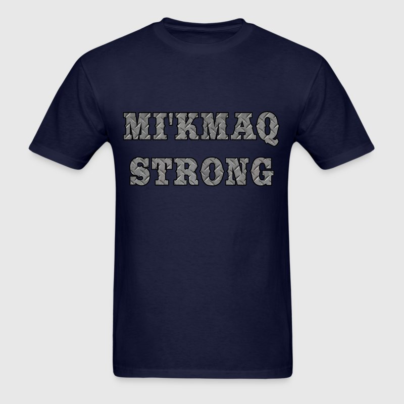 MIKMAQ STRONG STEEL - Men's T-Shirt