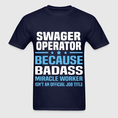 Swager Operator - Men's T-Shirt