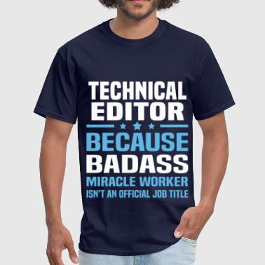 Technical Editor - Men's T-Shirt