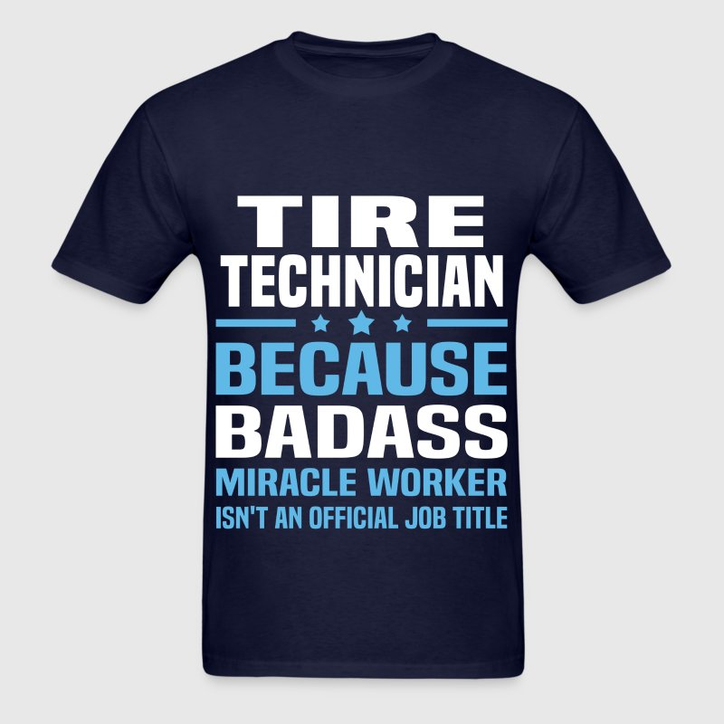 Tire Technician - Men's T-Shirt