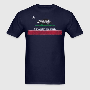 Wisconsin Republic Clothing Apparel Tees - Men's T-Shirt