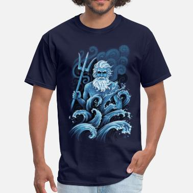 Mythology Poseidon - Men's T-Shirt