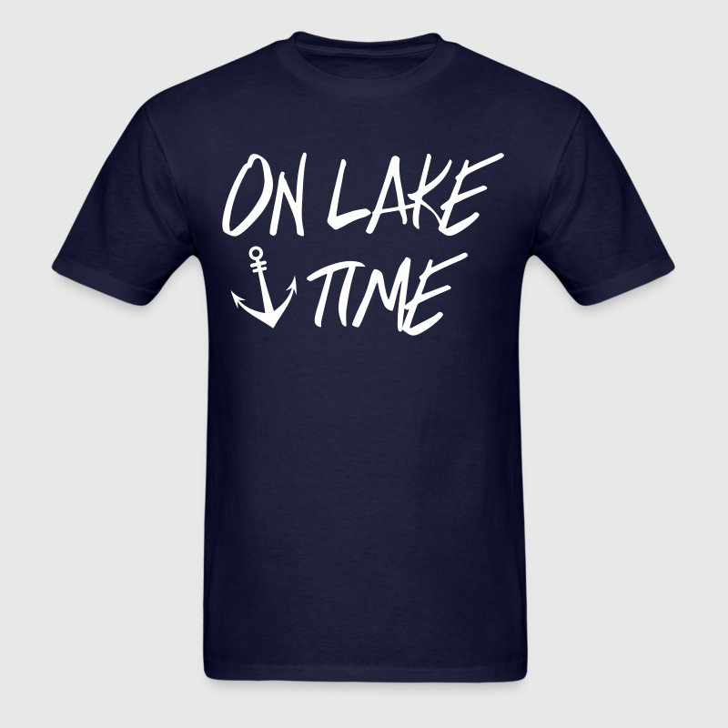 On Lake TIme - Men's T-Shirt
