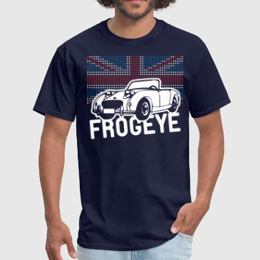 Austin-healey Austin-Healey Frogeye Sprite mk1 Union Jack illustration and text - Men's T-Shirt
