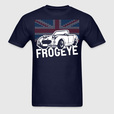 Austin-Healey Frogeye Sprite mk1 Union Jack illustration and text - Men's T-Shirt