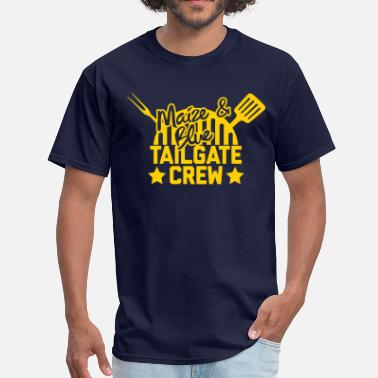 Maize Maize & Blue Tailgate Crew - Men's T-Shirt