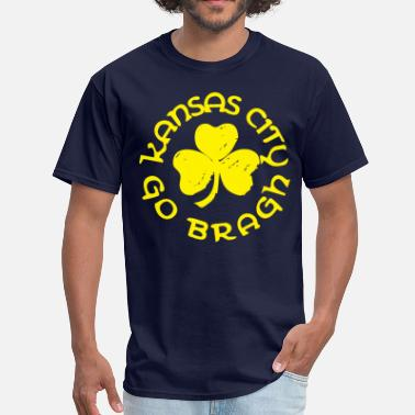 Kc Pride Irish Kansas City Go Bragh - Men's T-Shirt
