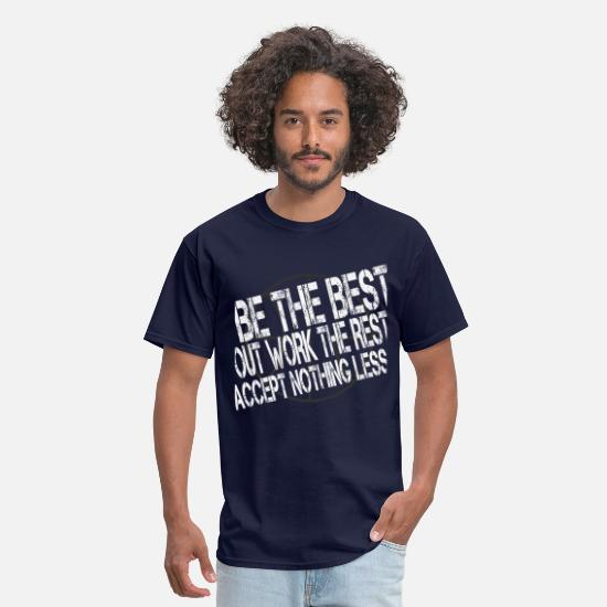 Basketball T-Shirts - BeTheBest4dark.png - Men's T-Shirt navy