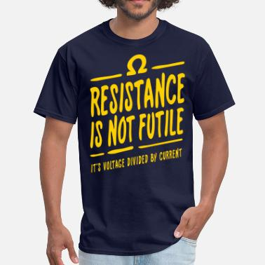 233c303186c Men s T-Shirt. science Atom. from  19.49. Science Resistance is not futile  - Men  39 s ...