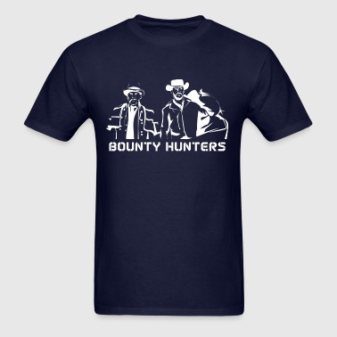 Django Unchained - Bounty Hunters (In White) - Men's T-Shirt