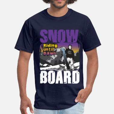Ride Snowboards Snowboard riding - Men's T-Shirt