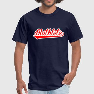 Mathlete - Men's T-Shirt