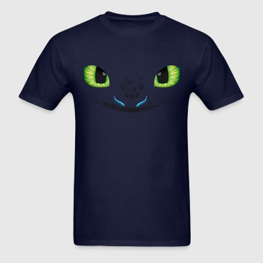 dragon face - Men's T-Shirt