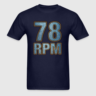 78 rpm - Men's T-Shirt