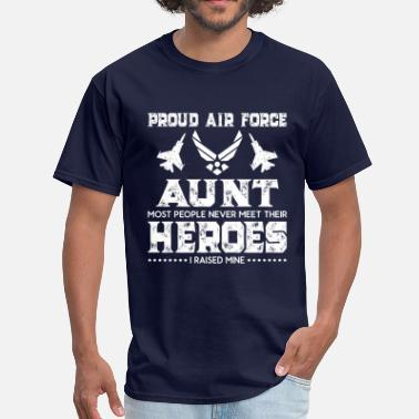 Air Force Sister Proud Air Force Aunt T Shirt For Gift - Men's T-Shirt