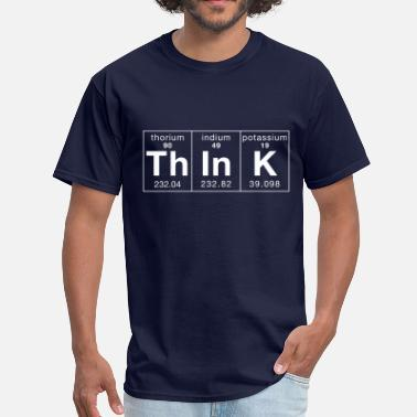 Geek Think Periodically - Men's T-Shirt