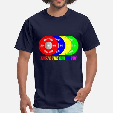 Olympic Lifting tastetherainbow - Men's T-Shirt