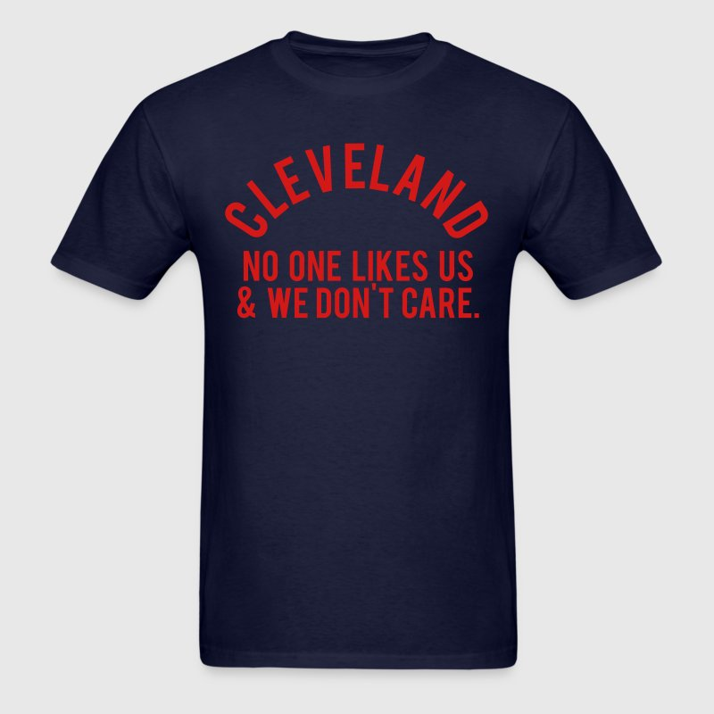 Cleveland No One - Men's T-Shirt